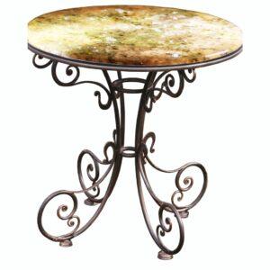 Декоративный эксклюзивный стол «Янтарь»